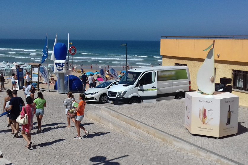 ANIPLA leva campanha Considere os Factos à praia