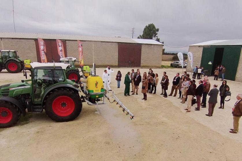 440 visitaram a SMART FARM